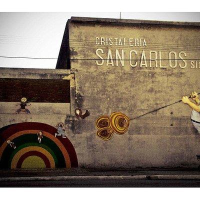 Cristalería San Carlos   Foto Perteneciente al Portal www.region-litoral.com.ar