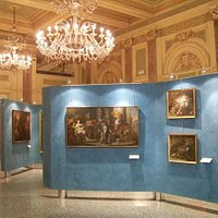 salone centrale - opere del XVIII secolo