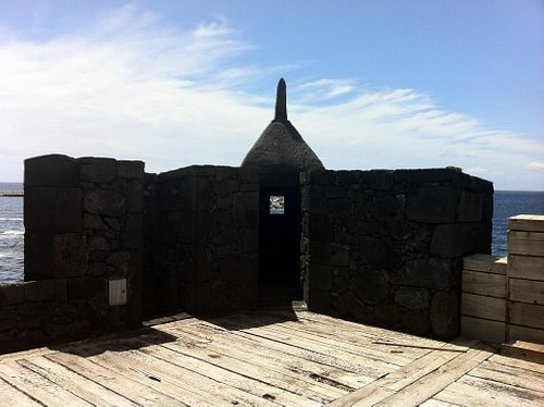 One of the lookout points of the fort.