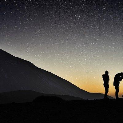 Atardecer y Estrellas en el Teide | Sunset and Stars at Teide