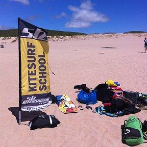 kitesurf praia do Guincho - Cascais