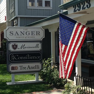 New Sanger Family Sign
