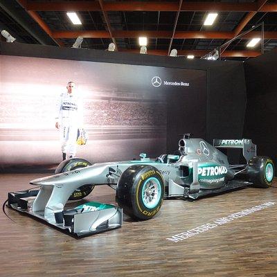 F1カーも!