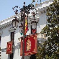 Plaza del Carmen, Rathauseingang