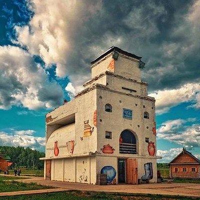 Самая большая русская печь в мире