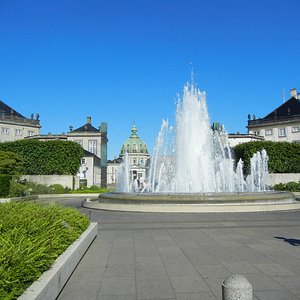 Amaliehaven fountain