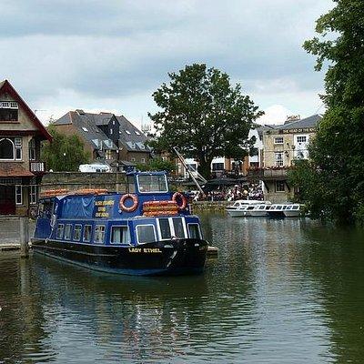 Salter's Steamers, Folly bridge, Oxford