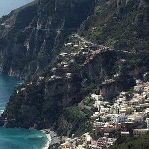 Amazing view on Positano