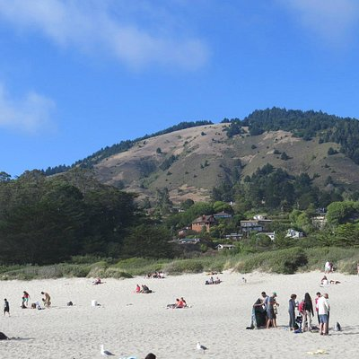 Hills around Stinson Beach