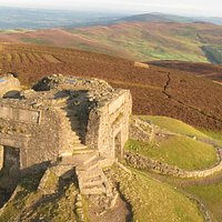 Fabulous walks to the Jubilee Tower at the summit from Coed Moel Famau and Bwlch Pen Barras