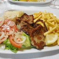 Fried porc