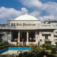 Entrance of the Birla Planetarium, Kolkata