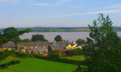 Aerial view village