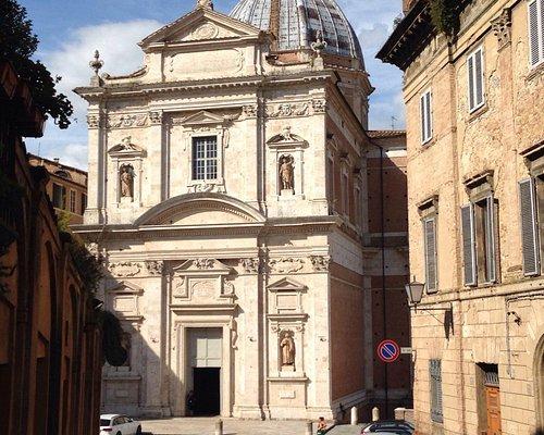 Vue depuis via Lucherini