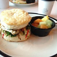 Make your own breakfast sandwich ... homemade buttermilk biscuit