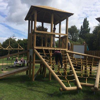 Brand new playground