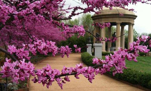 English Garden Folly at The National D-Day Memorial in Bedford, VA.