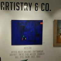 Pared explicativa de Artistry & Co