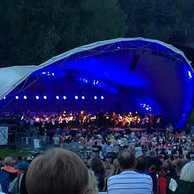 Great evening listening to sounds of the Eagles by Grand Rapids Symphony at Summer Picnic Pops