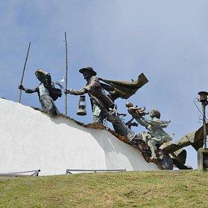 Monumento de los Colonizadores  en Chipre Manizales