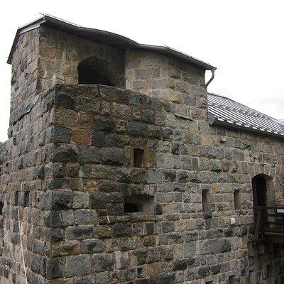 Esterno del Forte Corno