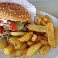Cheeseburger  traumhaft lecker !!!!