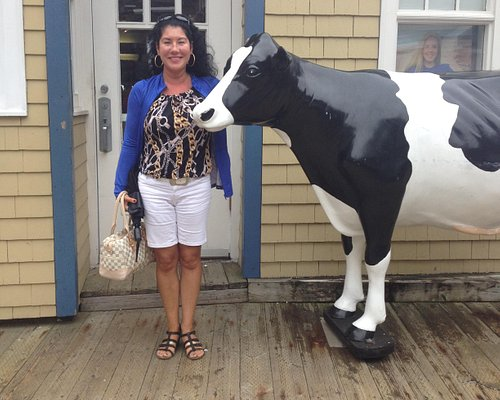 Me with the cow