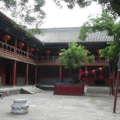 Un cortile interno