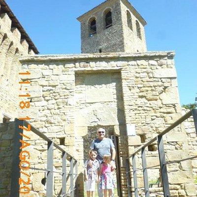 L'ingresso al castello