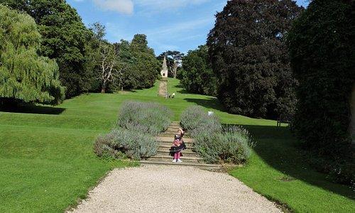 Garden Stanway Manor