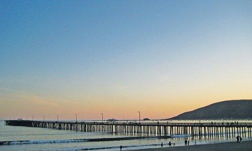 Avila Beach Pier at Sunset