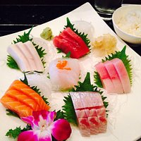 Beautiful Sashimi Dinner! yum!