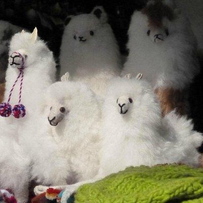 Lhamas de pelúcia