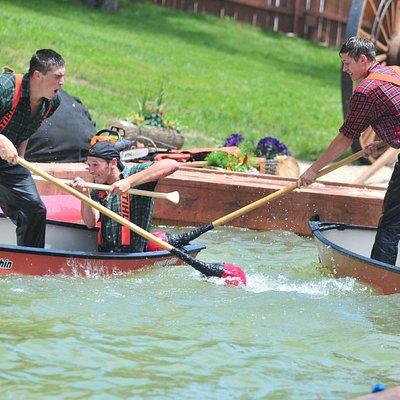 Canoe Jousting