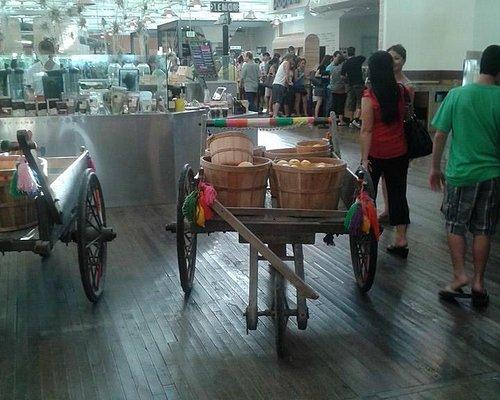 Fruit carts