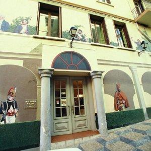 La façade du musée A Bandera