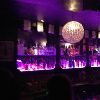 The Bar at KLUB GLAS.