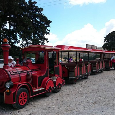 Talos Express train nearby Moni Arkadi