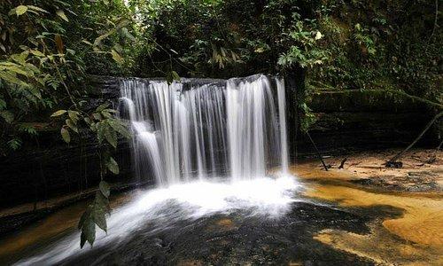 Cachoeira linda encontrada na Serra.