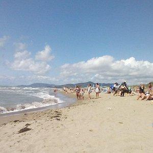 Spiaggia libera le marze