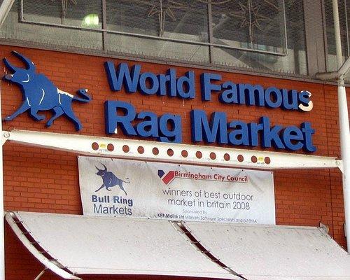 """World Famous"" Birmingham Rag Market"