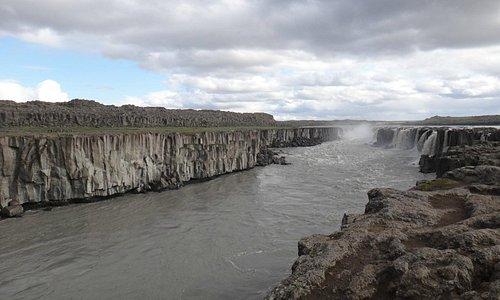 подкова водопада