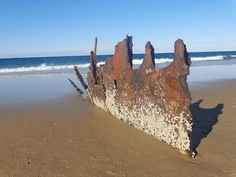 Shipwreck of SS Dicky