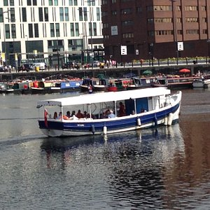 Skylark Dock Cruise Charter see al the 7 docks incl Albert Dock
