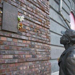 "Kyiv: Kuznetsov (""Babi Yar"" author) Monument"