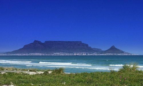 Great views of Table Mountain and the city