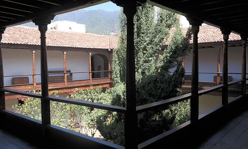 Courtyard of Museum
