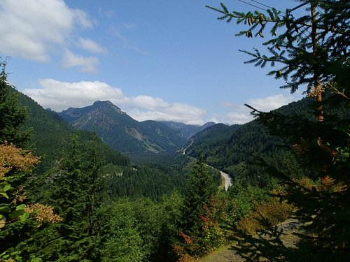 View from the Iron Horse Trail