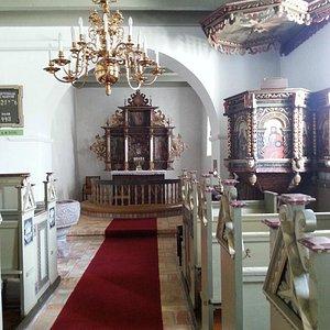 Hyggelig lille kirke
