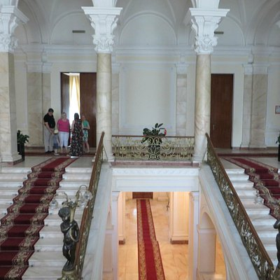 Vue des trois escaliers